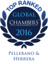 "Top Ranked ""Leading Firm"" by Chambers Global 2016 2016"