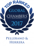 "Top Ranked ""Leading Firm"" by Chambers Global 2017 2017"