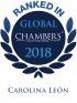 Senior Associate Carolina Leon ranked in Chambers Global