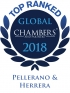 "Top Ranked ""Leading Firm"" by Chambers Global 2018 2018"