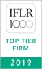 2019 Top Tier Firm by IFLR 1000 2019