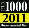 "Ranked ""Top Tier Firm"" by The International Financial Law Review (IFLR1000) 2011"