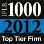 "Ranked ""Top Tier Firm"" by The International Financial Law Review (IFLR1000) 2012"
