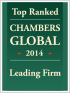 "Top Ranked ""Leading Firm"" by Chambers Global 2014"