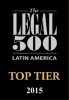 Pellerano & Herrera has been recommended by Legal 500 as a TOP TIER FIRM in Corporate and finance and Dispute resolution 2015
