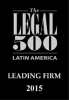 Pellerano & Herrera was recognized by Legal 500 in Real Estate & Tourism 2015